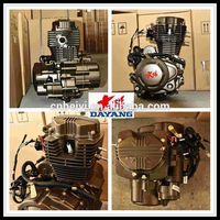Single Cylinder Four Stroke Air-Cooled Lifan 200cc Gasoline Tricycle Engine