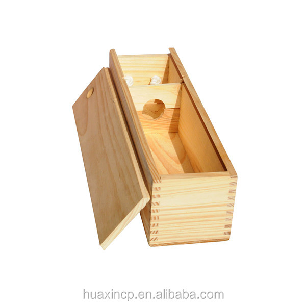 Wholesale Single Bottle Wine Wood Box In China Manufacturer