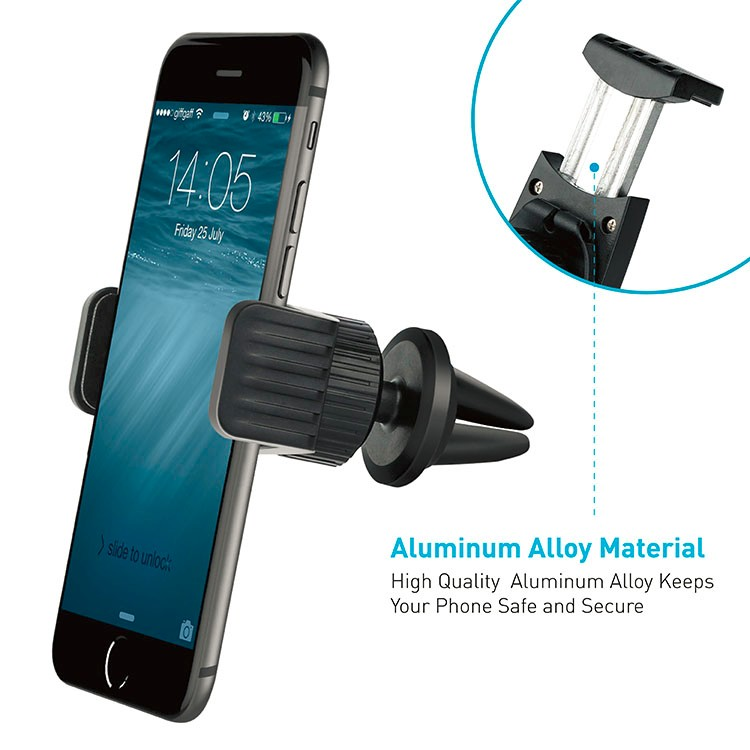 Factory Wholesale wizgear universal 360 degree magnetic air vent cell phone car holder