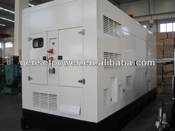 Germany Deutz Silent 500kva Diesel Generator With ATS