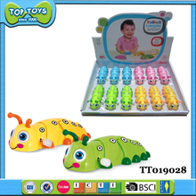 12Pcs Trolltech caterpillar Wind Up Toys For Kids
