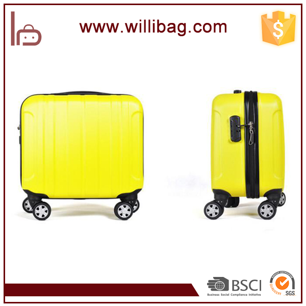 Factory Sale Cute Mini Board Luggage Box Cheap ABS Luggage Case