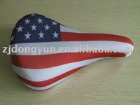 87% polyester Bike Seat Cover and color fastness durable