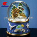 Personalized Polyresin Crystal Globe Custom made Resinic Snowball