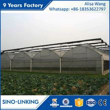 SINOLINKING low cost multi-span film for shade house greenhouse for vegetable