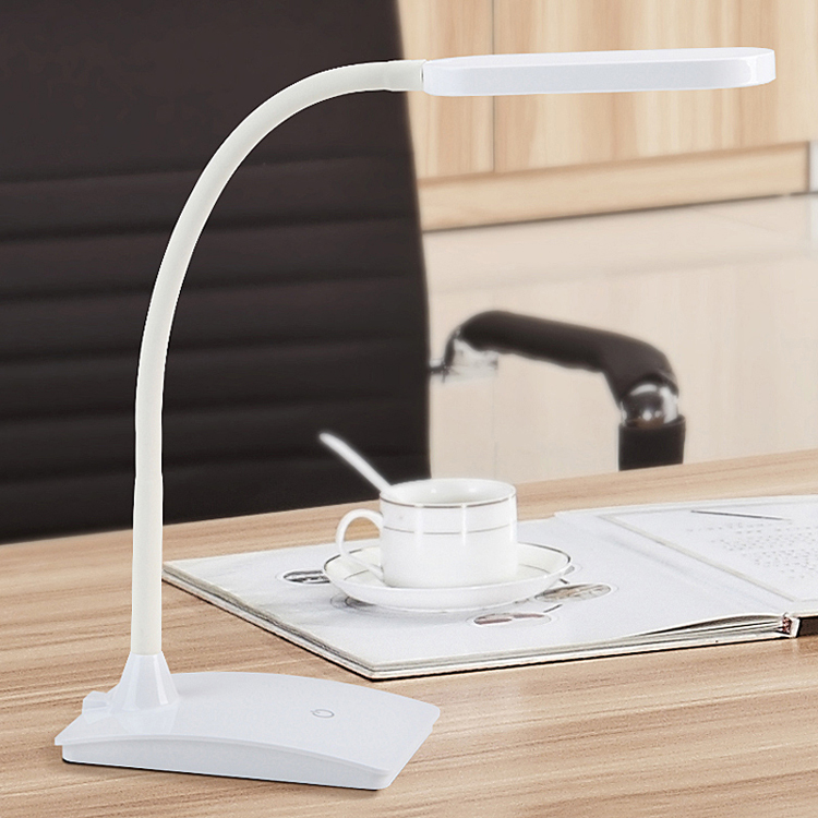 New year Flexible dimmable touch LED desk lamp touch control led reading lamp on the desk