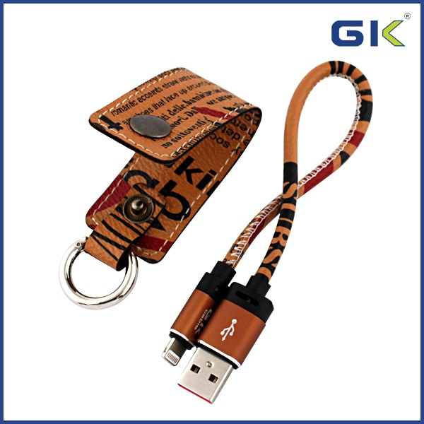 [GGIT] 0.25M Key Chains Style Data USB Cable For IPhone and Android Charger