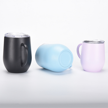 wholesale good quality car cup stainless steel round flask sublimation mug
