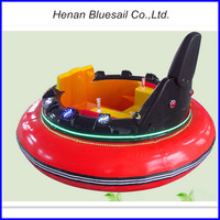 Inflatable UFO Bumper Car Children Game