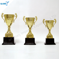 wholesale hot sell sliver trophy cup with plastic base