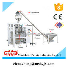 Reasonable price JX027 Automatic gusseted bag instant soup powder packing machine