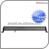 Warranty 2 year IP67 china 180w dual spot flood combo beam off road led work light bar