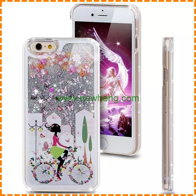 newest popular soft TPU liquid phone case for iphone 6 case for other mobile phone
