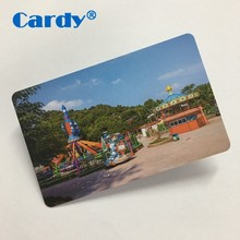 PVC contactless chip blank smart card sharing