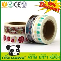 manufacturer china colorful washi tape rice paper
