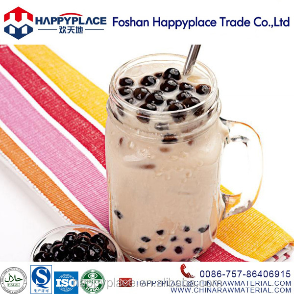 2016 new flavour tapioca pearls for bubble tea pearl milk tea