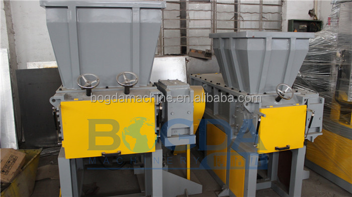 Single shaft shredder/plastic lump shredding machine/crate shredder machine