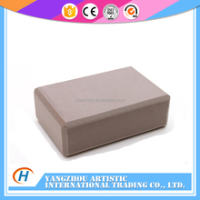 PU Leather foam yoga block for body building