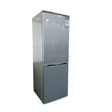 Attractive price national Silver gray refrigerator home double door refrigerators wholesale