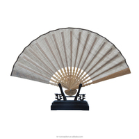 Chinese Feature Tradiitional Bamboo Men's Business Gift Hand Fan