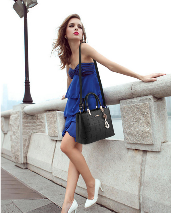 fashion waterproof PU women lady hand bag
