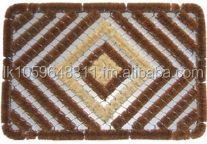 Brushmat Diamond with white Fiber (Crystal)