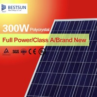 Top quality poly 156 cell import-export 300w solar panel pv