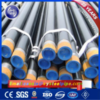 DN 200 Diameter API 5L Gr B Schedule 40 SMLS Seamless Galvanized Carbon Steel Pipe Price Per Ton