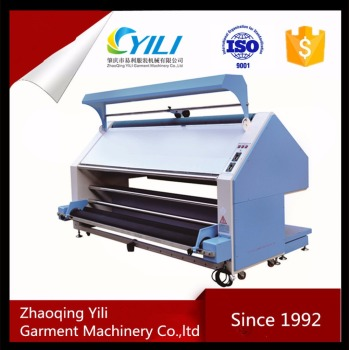 alignment cloth inspection machine price with fabric length counter meter