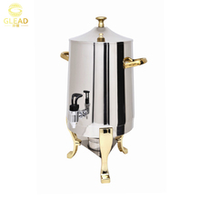 Golden Plated Stainless Steel commercial coffee maker dispenser/dispenser coffee/Coffee Urn
