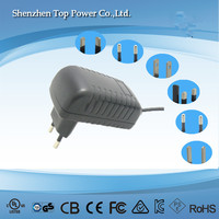 AC to DC 12v 2a wall power adapter 24w high quality new design