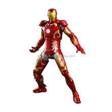 Movable Action Figure Iron Figure With LED