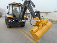 mini tractor backhoe loader,7t good quality tractor with front end loader and backhoe, cheap backhoe loader price