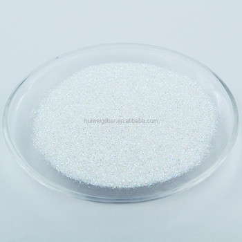 Popular product colored pet glitter powder for chart paper decoration