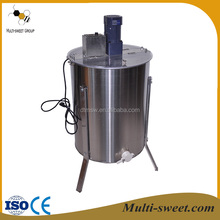 Hot sale honey processing machine, 3 / 4 / 6 / 8 / 12 / 20 / 24 frames electric honey extractor