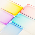 DFIFAN Hot selling products soft tpu mobile phone back cover for iphone 7 gradient color for iphone 7 clear case
