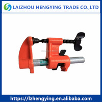 Regular woodworking pipe clamp and deep throat pipe clamp