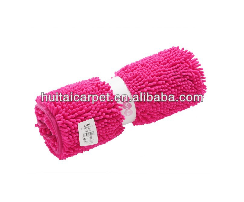 chenille floor carpet and rugs Bathmat