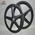 DengFu UD matt Track bike clincher 5 spoke bicycle wheel