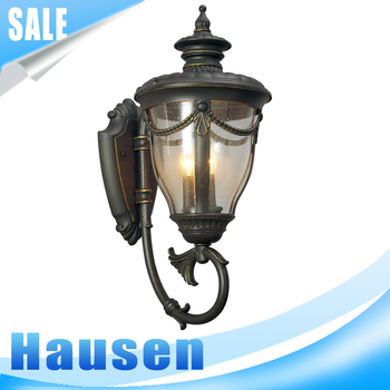 2016 hot sale modern style decorative wall lamp glass wall light