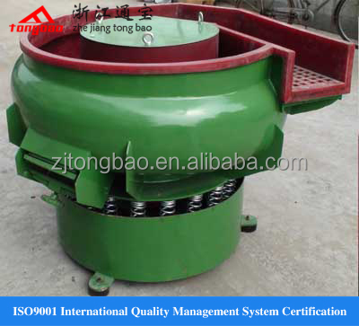 Vibratory finishing tumbler with 300 litre capacity