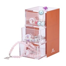 transparent acrylic lucky draw box for jewellry