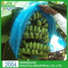 China Manufacture Wholesale Custom Banana Plastic UV Protection Bunch Cover Bags With Holes