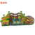 2018 giant inflatable challenage race for adults inflatable obstacle course