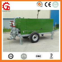Easy operation high efficiency portable foaming concrete machine with wheels