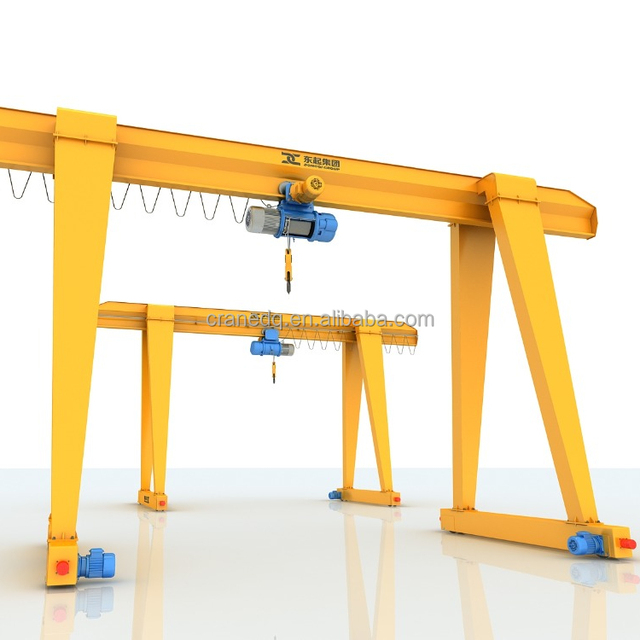 Best Price 75 Ton Double Girder Gantry Crane With Double Hook For Sale From China Supplier