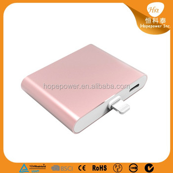2017 Environmental power bank 1000mah Rechargeable for Iphone and Android