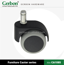 iron and plastic furniture casters