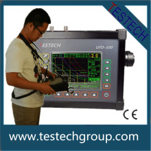 Wedge angle ultrasonic flaw detector