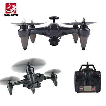 Hot selling 5.8G RC Drone with GPS 720P Wifi camera drone auto return home brushless quadcopter with follow me SJY-X198GPS